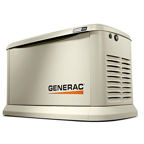 Generac 70422 Home Standby Generator Guardian Series 22/19.5kW Air-Cooled with Wi-Fi, Aluminum