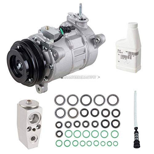 AC Compressor & A/C Kit For Chevy Silverado & GMC Sierra 1500 2014 2015 2016 - Includes Drier, Expansion, Oil & Seals - BuyAutoParts 60-85646RK New