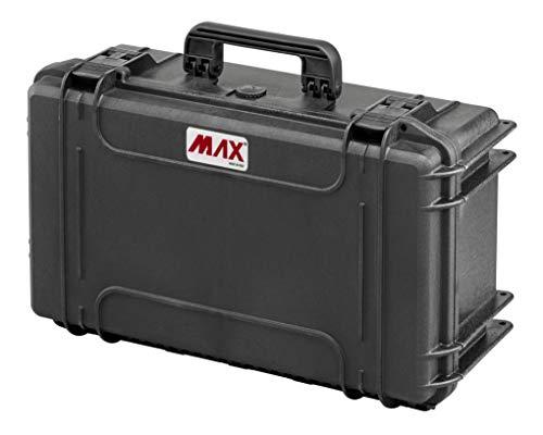 Max Cases - Valigia Fotografica con Divisorie Mobili Imbottite per Trasportare e Proteggere Apparecchiature e Materiali Sensibili, MAX430CAM, Dimensioni Interne 426 x 290 x 159 mm