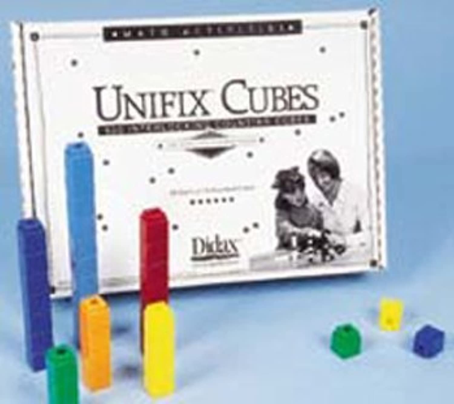 Unifix Cubes; Assorted Colorees; 500 Piece Set; no. DD-221 by Didax [giocattolo] (inglese uomoual)