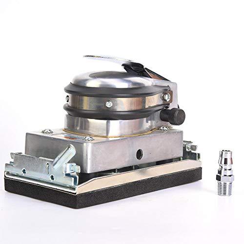Pneumatischer Luftschleifer, pneumatisches Quadratschleifmaschinen-Polierschleifwerkzeug für Metallmöbel-Holzprodukt