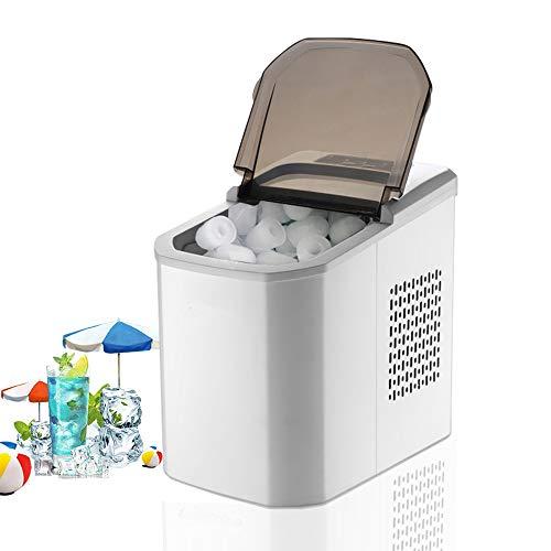 DWLXSH EIS-Hersteller mit Smart Panel, tragbarem Tisch Eismaschine, 70 Ice Speicherkapazität, erzeugen können 9 Eiswürfel (8 Minuten) zu einem Zeitpunkt