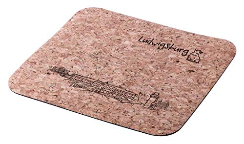 "Mousepad Kork\""Skyline Ludwigsburg\"""