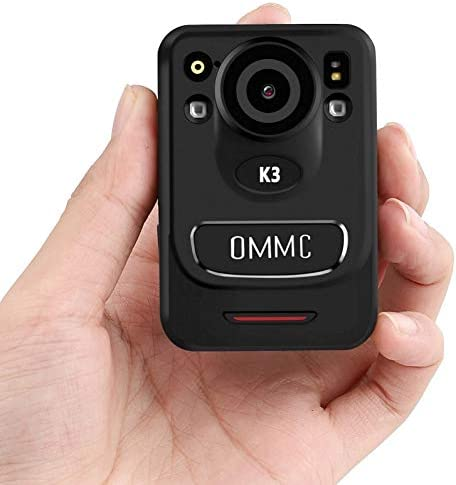 1440P HD Police Body Camera OMMC K3 Mini Portable Body Camera with Night Vision 128G Memory product image