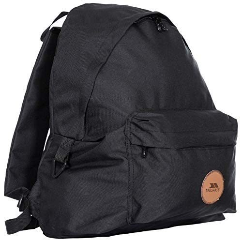 Trespass Aabner Casual Backpack - BLACK EACH