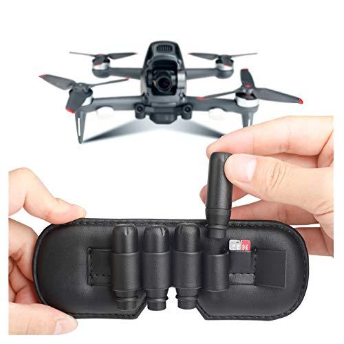 dji FPV Combo Drone Accesorios, FPV Drone Flying VR Gafas Antena Tarjeta de Memoria Bolsa de Almacenamiento Parte Ranura Soporte Compatible con dji FPV Combo Drone