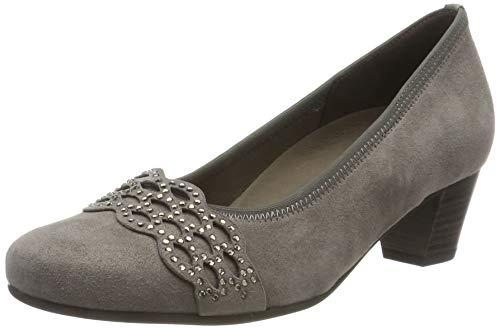 Gabor Shoes Damen Comfort Basic Pumps, Braun (Fango 12), 39 EU (UK 6)