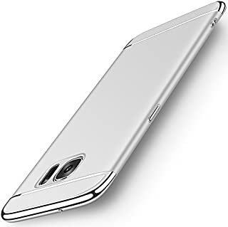 NAISU Galaxy S7 Case, Samsung S7 Back Cover, Ultra Slim & Rugged Fit Shock Drop Proof Impact Resist Protective Case, 3 in 1 Hard Case for Samsung Galaxy S7 - Silver