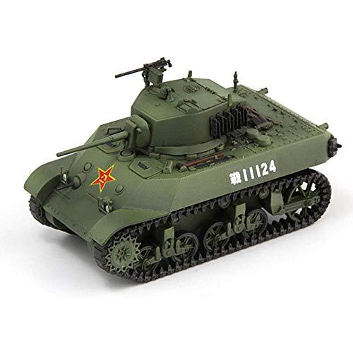LHJCN Modello di carro Armato pressofuso in Scala 1/72, carro Armato M3A3 Modello in Resina dell'Esercito Cinese, Giocattoli e Regali Militari, 2,8 Pollici x 1,5 Pollici