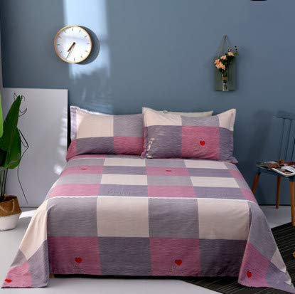 ZKLNB Cotton Sheets, One Piece, Cotton Twill, 200X230 [Sheets, One Piece] Beautiful Life