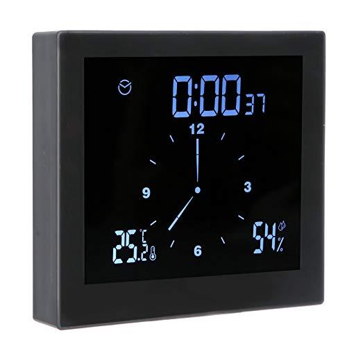 Reloj de Baño, LCD Reloj de Ducha Digital Alarma Impermeable Control Táctil,Temporizador...