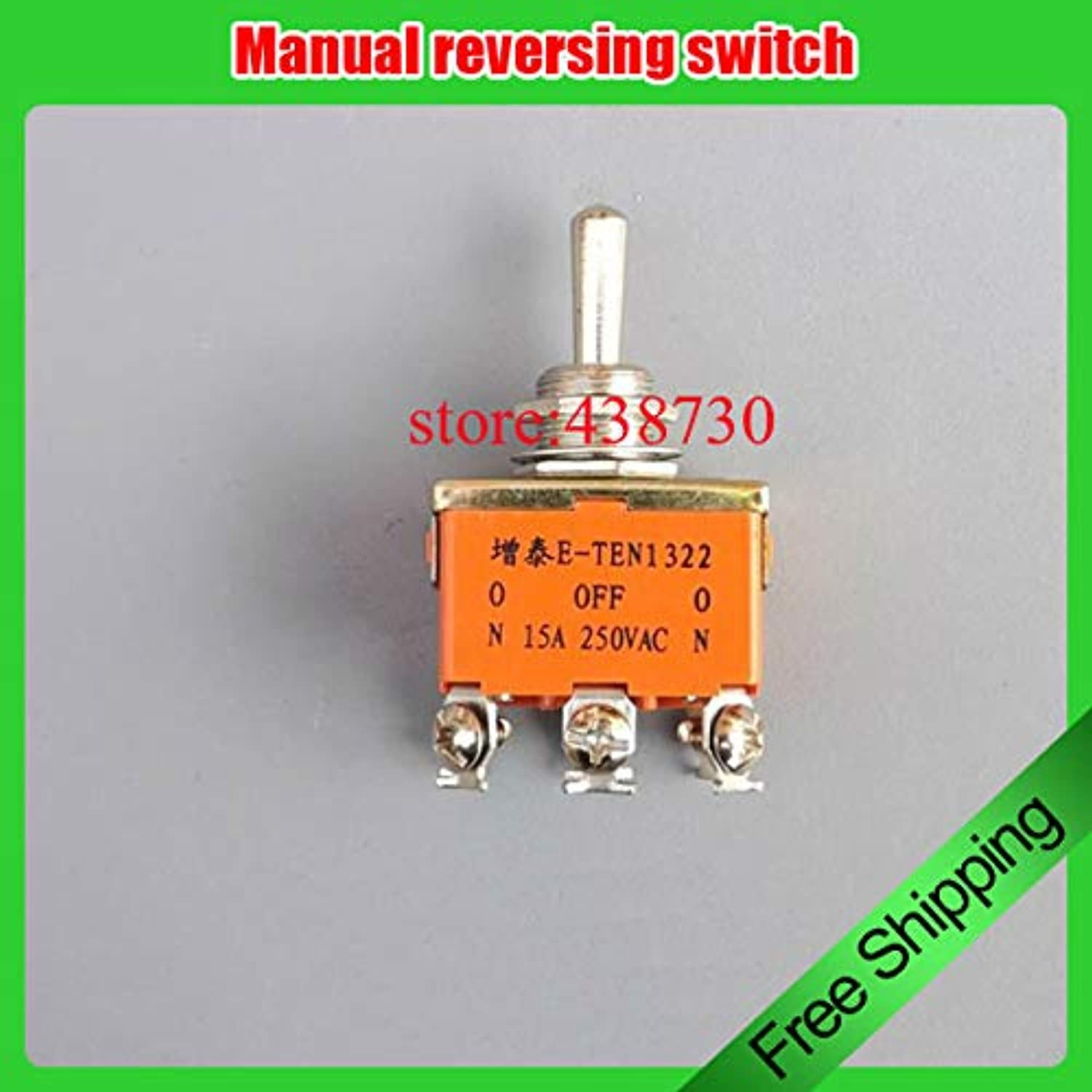 10pcs Manual Positive and Negative Switch knob Switch Forward redation Stop Third Gear Switch