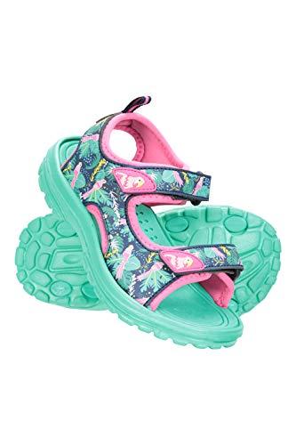 Mountain Warehouse Sandalias Sand para niña - Zapatos con Forro de Neopreno, Sandalias de Verano con Suela Resistente, Calzado con Tira de talón Desmontable