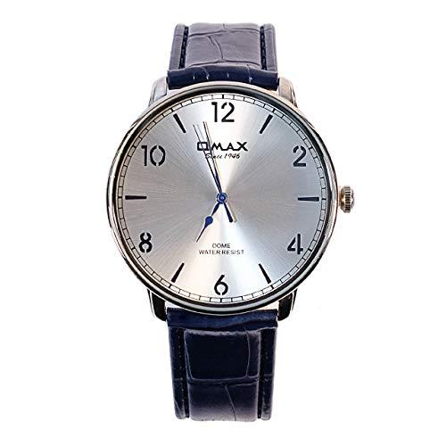 Omax Señor Reloj de Pulsera Type dc001p64i Elegante de Cuarzo japonés