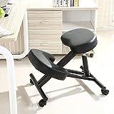 Best Kneeling Chairs - Kneeling Chair Orthopaedic Stool Adjustable Ergonomic Back Posture Review