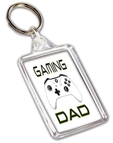 Schlüsselanhänger mit Gaming-Xbox-Controller-Motiv, Geburtstag, Vatertag, Weihnachten, Geschenk für Papa