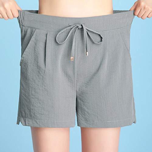 DAIDAICDK Shorts Vrouwen Kantoor Dames Zomer Shorts Voor Vrouwen Wijde Pijpen Losse Elastische Vrouwen Shorts Hoge Taille Casual