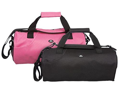Case4Life Borsa Sport Leggera Rosa Resistente all'Acqua Duffle + Tracolla Imbottita Rimovibile - Garanzia a Vita