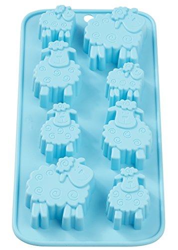 Gießform Schaf 1 Motiv, für Seife, Schokolade, Beton, aus Silikon, lebensmittelecht Spülmaschinenfest