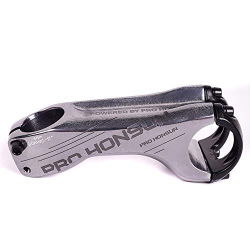 Lidauto Mountainbike aluminium 90 mm 17 ° graden 31,8 mm x 28,6 mm greep verhoging van het stuur