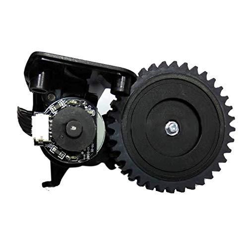 Yongenee Reemplazo rueda izquierda para Ilife V5S V5 X5 V3S V3 V3L Partes de aspirador derecha