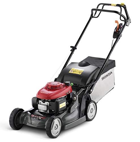 Benzin-Rasenmäher Honda HRX 476C HY, Schnittbreite 47 cm, Schnitthöhe 25-79 mm, max. Rasenfläche 1500 m², Grasfangkorb 69 L, robustes Polymergehäuse, Nennleistung 2.7/3.7 kW/PS bei 2750 U/min, Hinterradantrieb, emissionsarm.