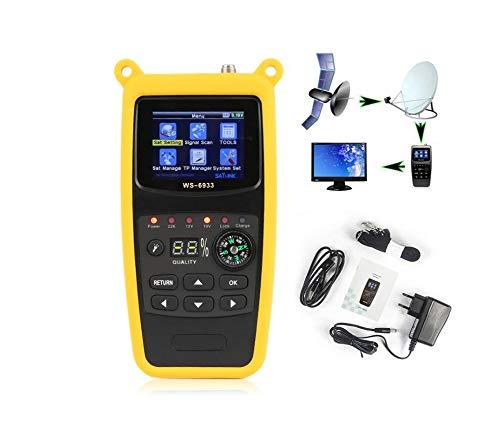 Lysee Fiber Optic Equipments - ws-6933 DVB-S2 digital satellite meter satlink ws6933 sat finder