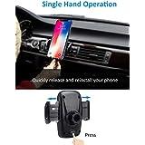 スロットカー携帯電話ホルダー、ユニバーサルCDスロットカーマウントiPhoneのための11 XのX Xrを8 7 6 6SプラスサムスンギャラクシーS10E S9 S9 + S8 S7 S6 Huawei社P30、P20、P10 LG、ソニーGoogleのノキアGPSなど 車の携帯電話ホルダー磁気