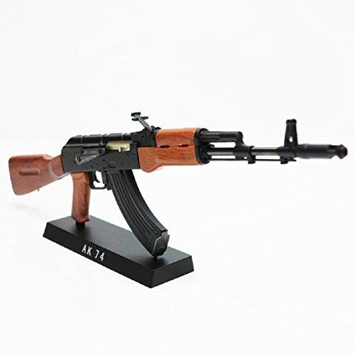 Army Force nicht-Funktions-Spielzeug-Abbildung Dummy-Modell-Installationssatz 1: 6 AK 47 Schwarz / Braun