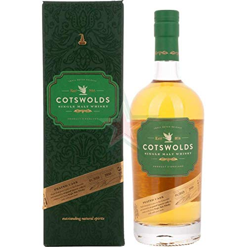 Cotswolds PEATED CASK Single Malt Whisky (1 x 0.7 l)