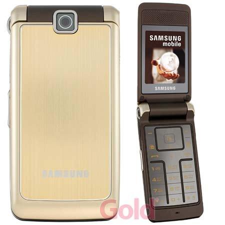 Samsung SGH S3600 (fotocamera da 1,3 MP, lettore MP3, Quad Band) Luxury Gold