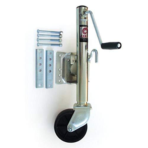 Pacific Rim MJ-1001BBX Ram Swivel Tongue Jack - 1000 lb. Load Capacity