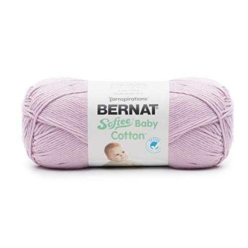 Bernat Softee Baby Cotton 1.0, Soft Plum, Piece