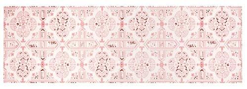 Küchenläufer Küchenteppich Küchen Matten Flur Läufer Teppich Deko waschbar robust modern Größe 140x45 cm 12 verschiedene Motive-Design und Farben (Tile -Pastel)