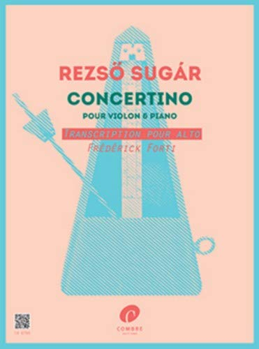 Concertino (Transcription Frederick Forti) --- Alto et Piano
