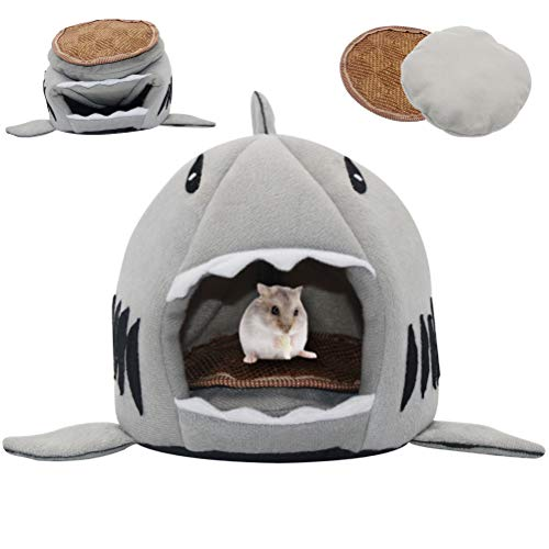 SCIROKKO Guinea Pig Bed - Small Pet Animals Bed, Cotton Warm Nest Mini House - Sleeping Mat for Dutch Pig Hamster Hedgehog Rat Chinchilla