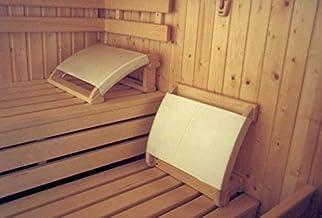 SudoreWell® Sauna appuie-tête avec Housse en Tissu - Accessoire pour Sauna