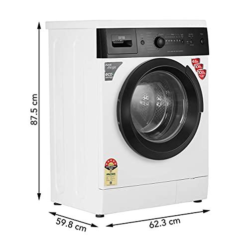 IFB 6 kg 5 Star Fully-Automatic Front Loading Washing Machine (Diva Aqua BX, White|Black matte, Aqua Energie,Crescent Moon Drum,Laundry... 2