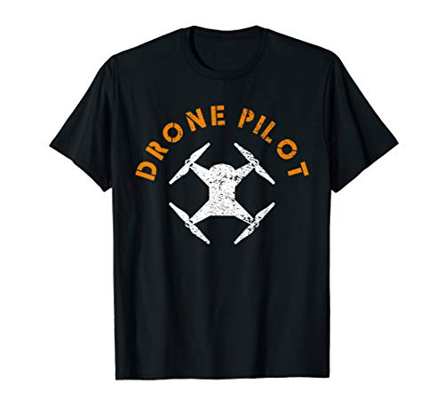 Drohne Fliegen Kamera Multicopter T-Shirt
