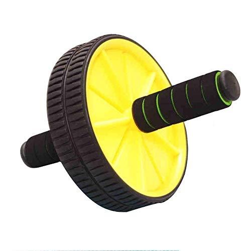 YDHWT Stärkung Zurück Haushalt Abdominal Rad Männer Silent Fitnessgeräte Training Abdomen for Heavy Duty-Core-Muskel-Training anziehen Bauch stärken