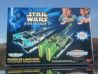 Star Wars Episode I Micro Machines Podracer Launchers with Teemto Pagalies and Gasgano's Podracers by Star Wars