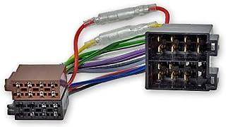 Universele ombouwadapter ISO-ISO stroom en luidspreker klem 15/30 draaibaar