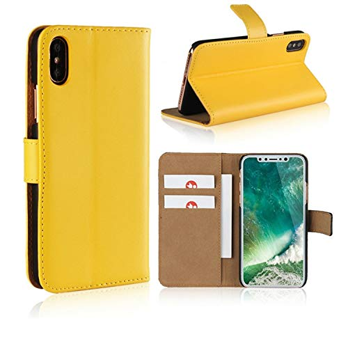 Smart Fit Sport Funda iPhone - Funda Piel con Carcasa Interna de TPU Soporte Plegable 2 Ranuras para Tarjetas Cierre magnético Funda Tapa para para iPhone X/XS 5/5S 5C 6/6s 6 Plus 7/8 7 Plus/8 Plus