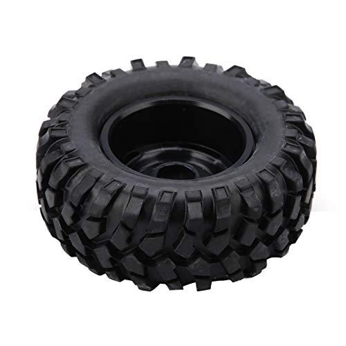 Okuyonic 1:10 Neumáticos Neumáticos De Goma, Pieza De Automóvil con Control Remoto Portátil Resistente Al Desgaste con 1 Paquete De Tornillos