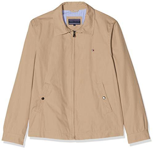 Tommy Hilfiger Herren New IVY Jacket Jacke, Beige (Batique Khaki 264), Large