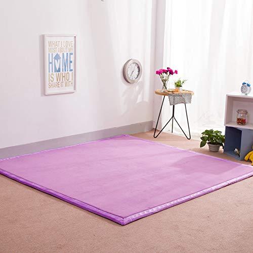 ZQ&QY No-Slip Play Crawling Mat, Doble-Cara Impermeable Jugando Al Melares De Gimnasio Jardín Sala De Estar Dormitorio -i-2cm 80x200cm(31x79inch)