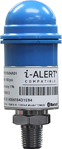 i-ALERT Wireless Pressure and Temperature Transducer for Pump Monitoring 100psi Bluetooth Smart