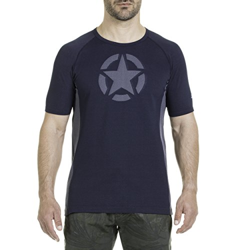 Jeep Star Print J7s - Camiseta para Hombre, Hombre, Camiseta, O100816-A687-S, Greyish...