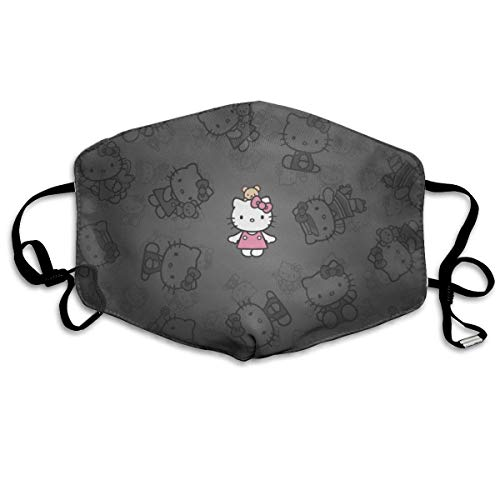 Bufanda de Nariz Reutilizable Unisex Hello-Kitty Face Cover