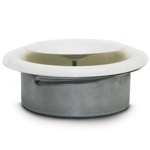 Valvola di uscita d'aria 360º - Winflex Metal (150mm)